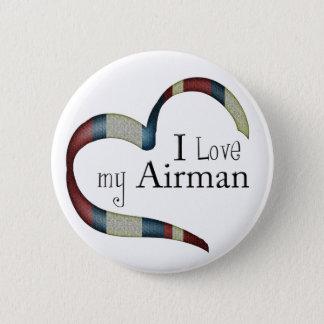 I love my airman button