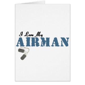I Love My Airman Card