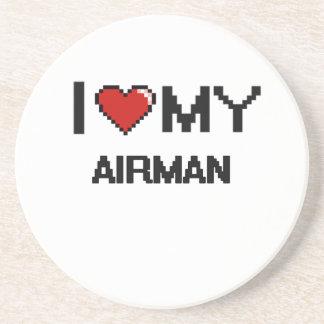 I love my Airman Drink Coaster
