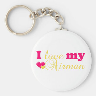 I love my Airman keychain