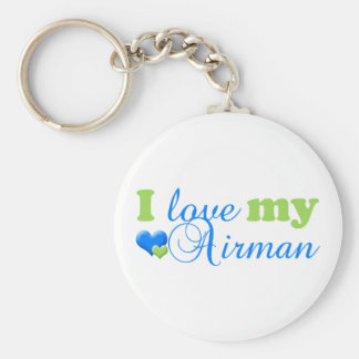 I love my Airman keychain