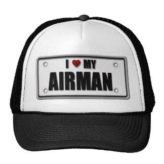 I Love My Airman Trucker Hat