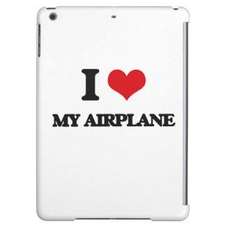 I love My Airplane iPad Air Cases