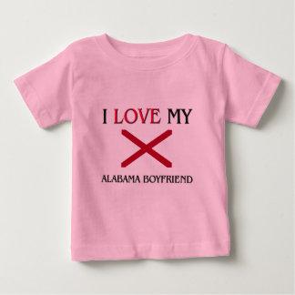 I Love My Alabama Boyfriend Shirt