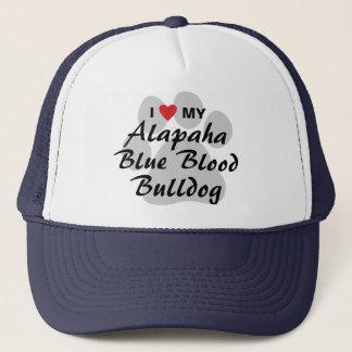 I Love My Alapaha Blue Blood Bulldog Trucker Hat