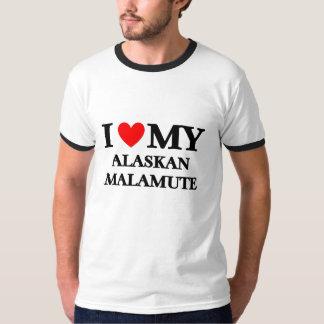 I love my Alaska Malamute T-Shirt
