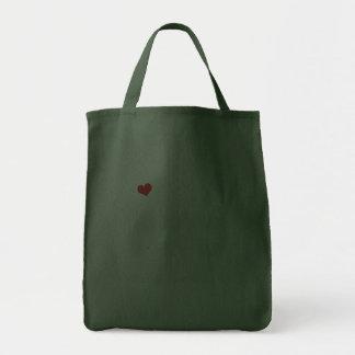 I Love My Alaskan Klee Kai (Female Dog) Canvas Bags
