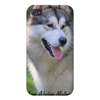 I Love My Alaskan Malamute Gifts & Novelties iPhone 4 Cases