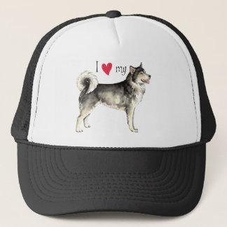 I Love my Alaskan Malemute Trucker Hat