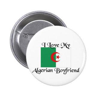 I love my algerian boyfriend pinback button