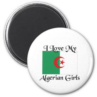 I love my Algerian Girls 2 Inch Round Magnet