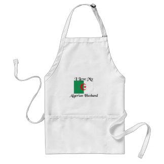 I love my algerian husband adult apron