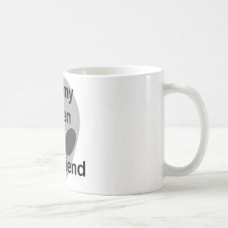I love my alien boyfriend coffee mug