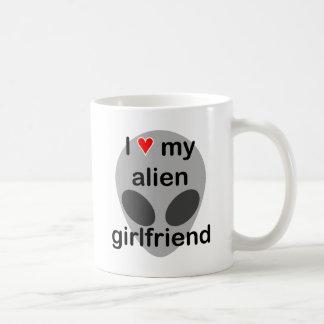 I love my alien girlfriend coffee mug