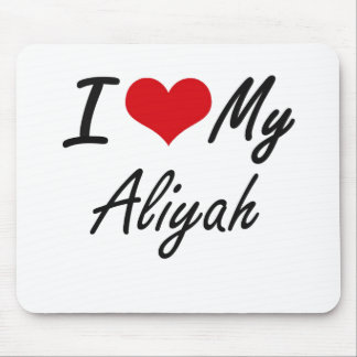 I love my Aliyah Mouse Pad
