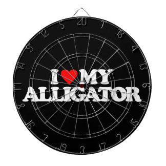 I LOVE MY ALLIGATOR DART BOARDS