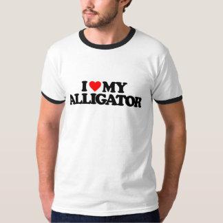 I LOVE MY ALLIGATOR T-Shirt