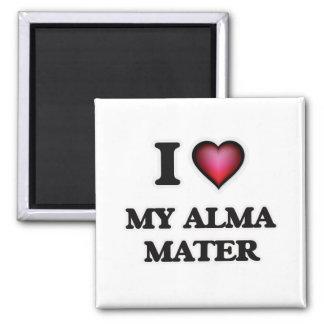 I Love My Alma Mater Magnet