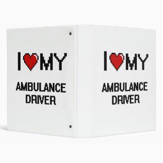 I love my Ambulance Driver 3 Ring Binder