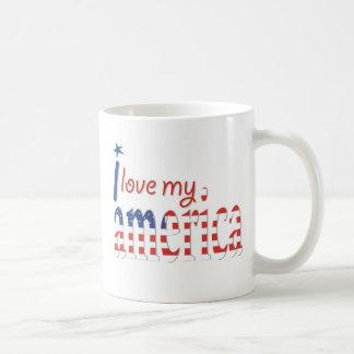 I Love My America Mug