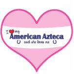 I Love My American Azteca (Female Horse) Photo Sculpture