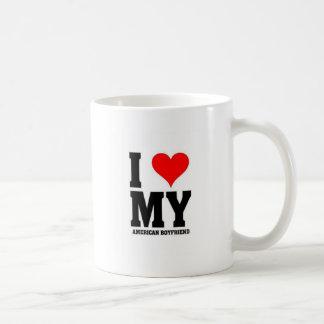 I love my American Boyfriend Coffee Mug
