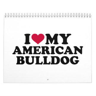 I love my American Bulldog Calendar