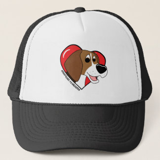 I Love my American Foxhound Trucker Hat