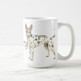 I Love my American Hairless Terrier Coffee Mug