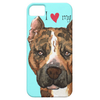 I Love my American Staffordshire Terrier iPhone SE/5/5s Case