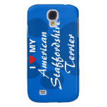 I Love My American Staffordshire Terrier Samsung Galaxy S4 Case