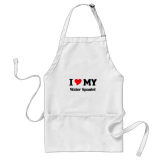 I love my American Water Spaniel Adult Apron