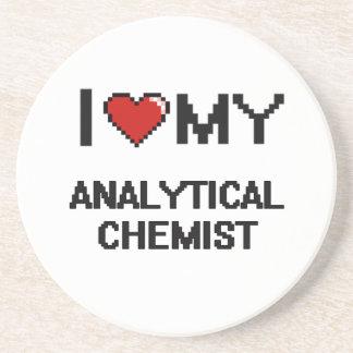 I love my Analytical Chemist Beverage Coasters