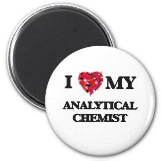 I love my Analytical Chemist 2 Inch Round Magnet