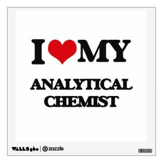 I love my Analytical Chemist Wall Graphics