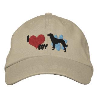 I Love my Anatolian Shepherd Embroidered Hat