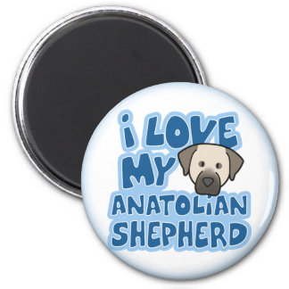 I Love My Anatolian Shepherd Magnet