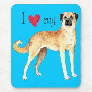 I Love my Anatolian Shepherd Mouse Pad