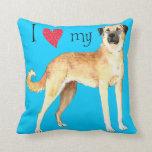 I Love my Anatolian Shepherd Pillows