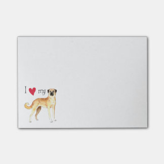 I Love my Anatolian Shepherd Post-it Notes