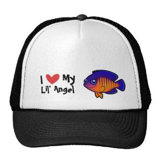I Love My Angelfish Trucker Hat
