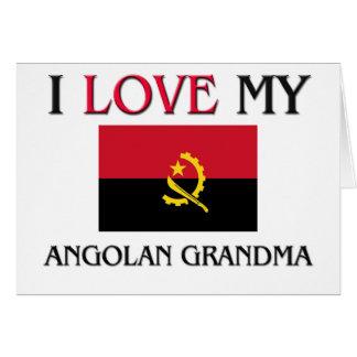 I Love My Angolan Grandma Card