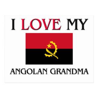I Love My Angolan Grandma Post Card