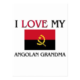 I Love My Angolan Grandma Post Cards