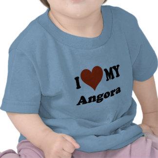 I Love My Angora Cat Gfits and Apparel T-shirt