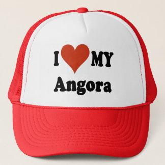 I Love My Angora Cat Hats and Caps