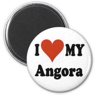 I Love My Angora Cat Magnet