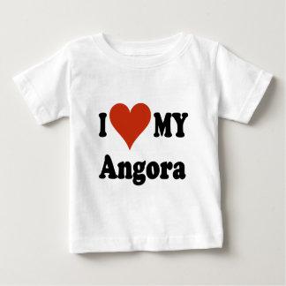 I Love My Angora Cat Merchandise Baby T-Shirt