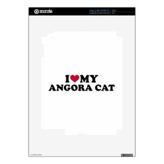 I love my Angora cat Skins For The iPad 2