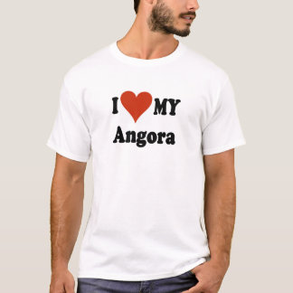 I Love My Angora Cat T-Shirts